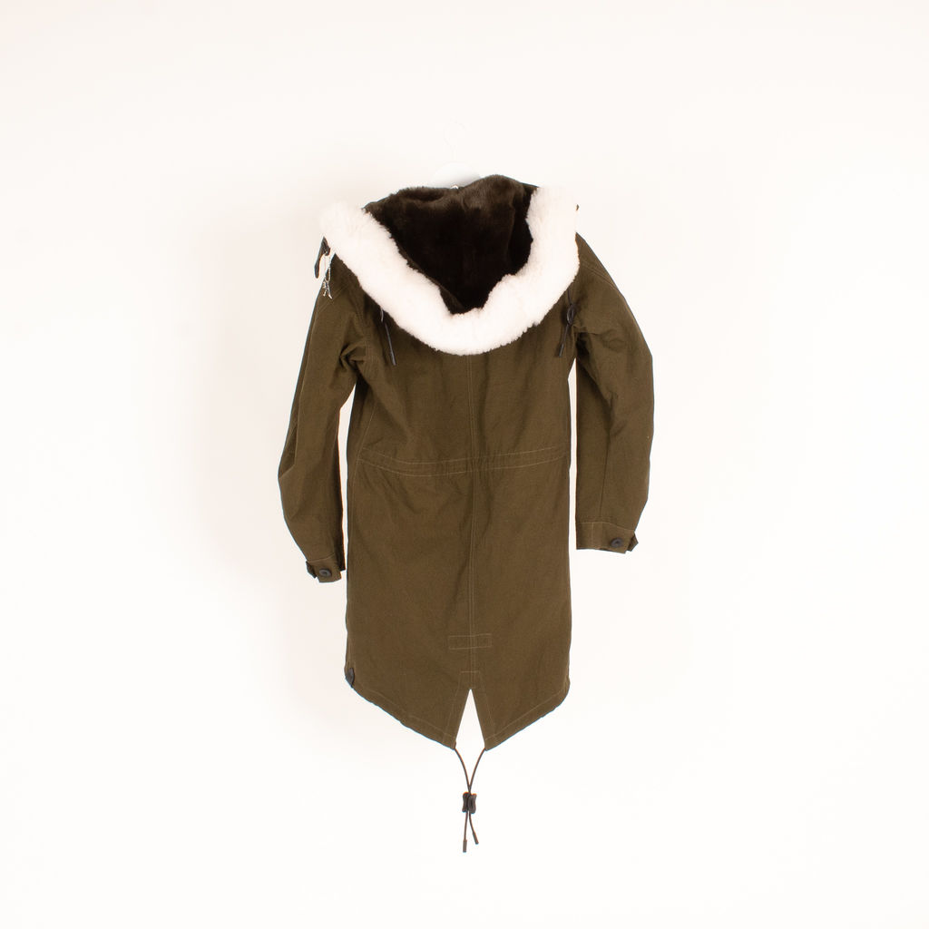 Coach Army Green Parka