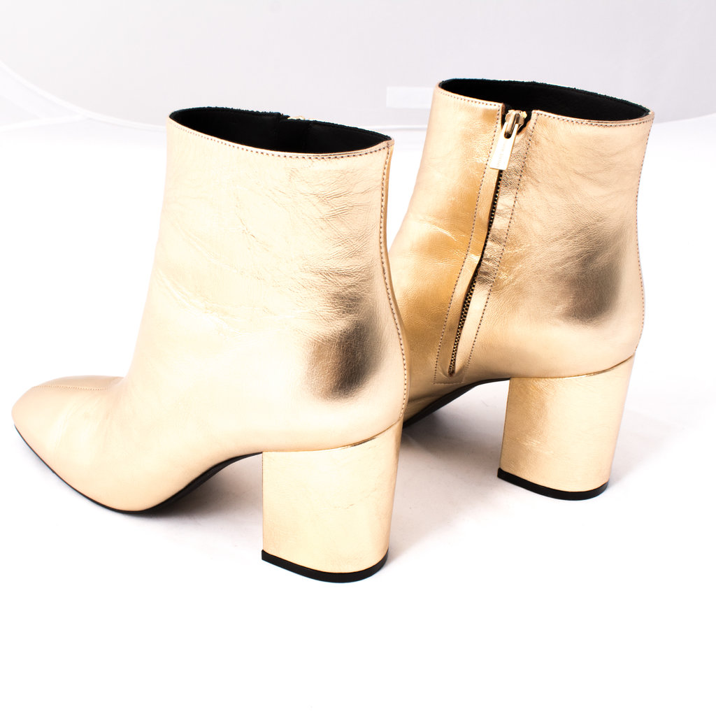 Anine Bing Gold Natalie Boot