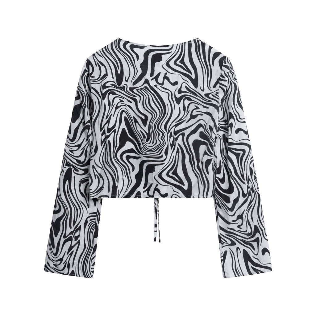 Paloma Wool Zebra Print Top