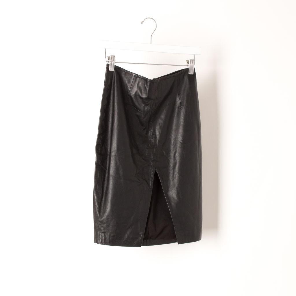 Jaggar Leather Skirt