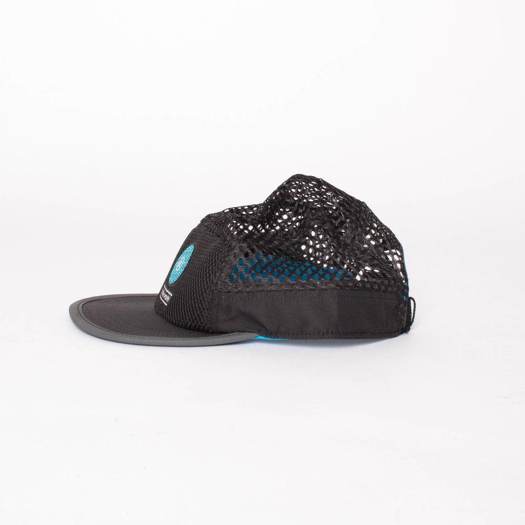Ciele Athletics Run The World Black Mesh Hat