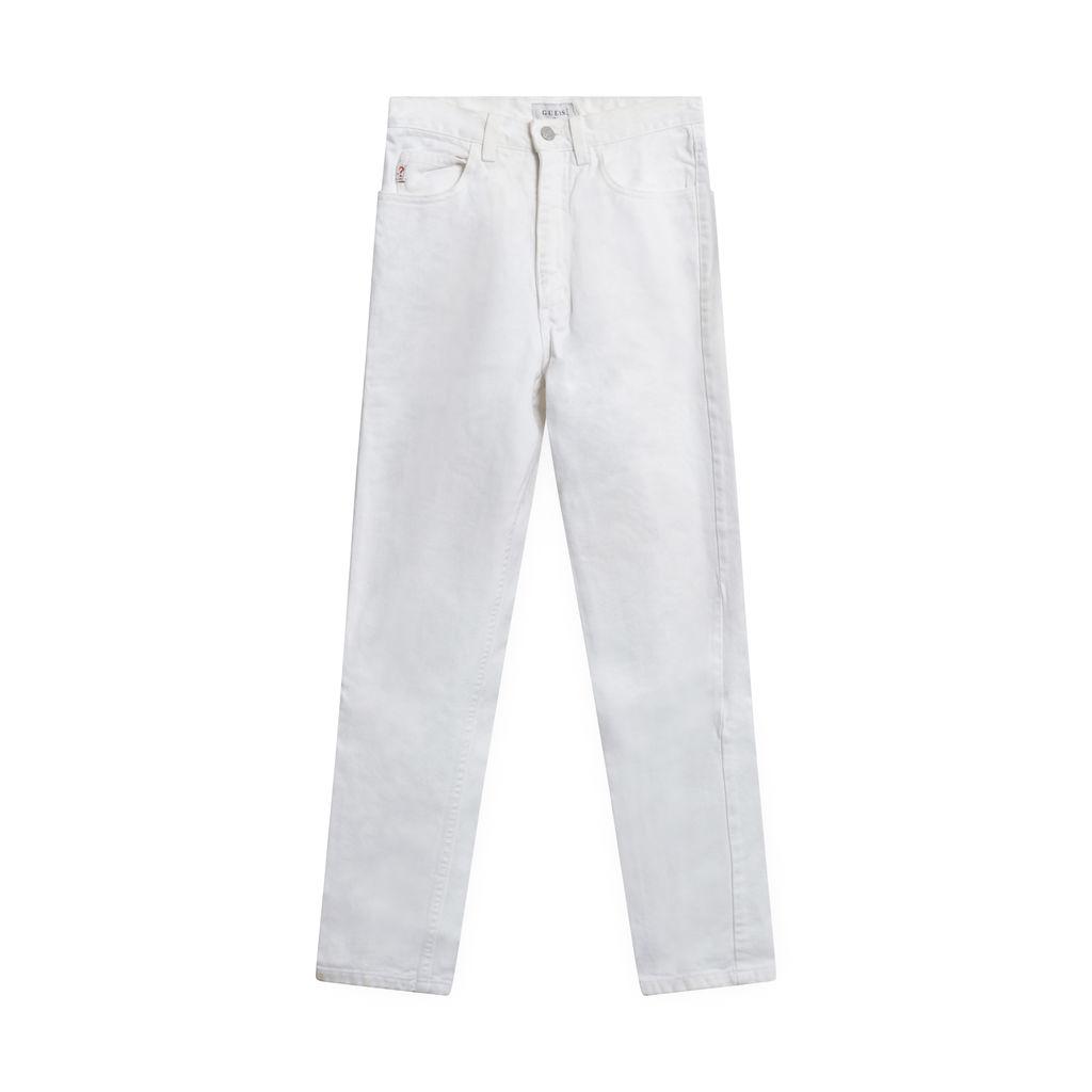 Vintage Guess White Denim Jeans