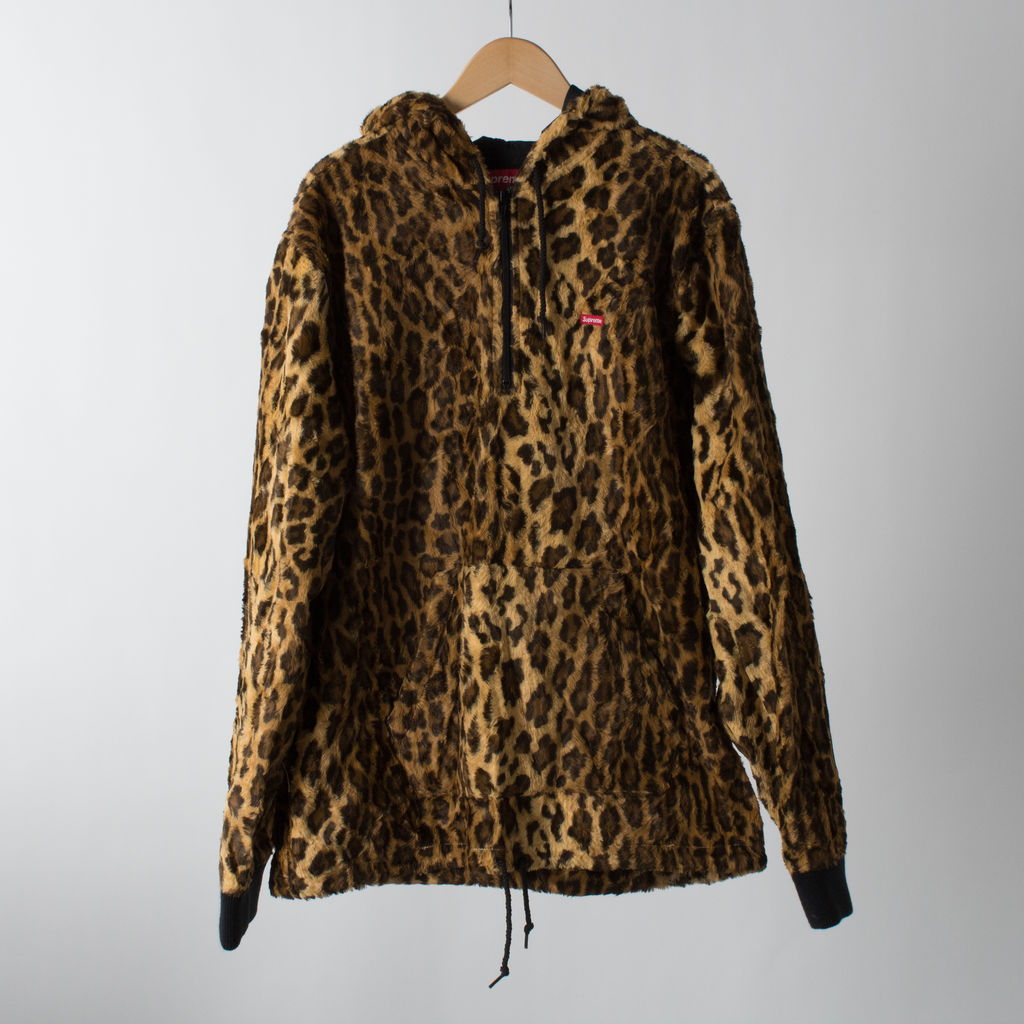 Supreme Cheetah Anorak