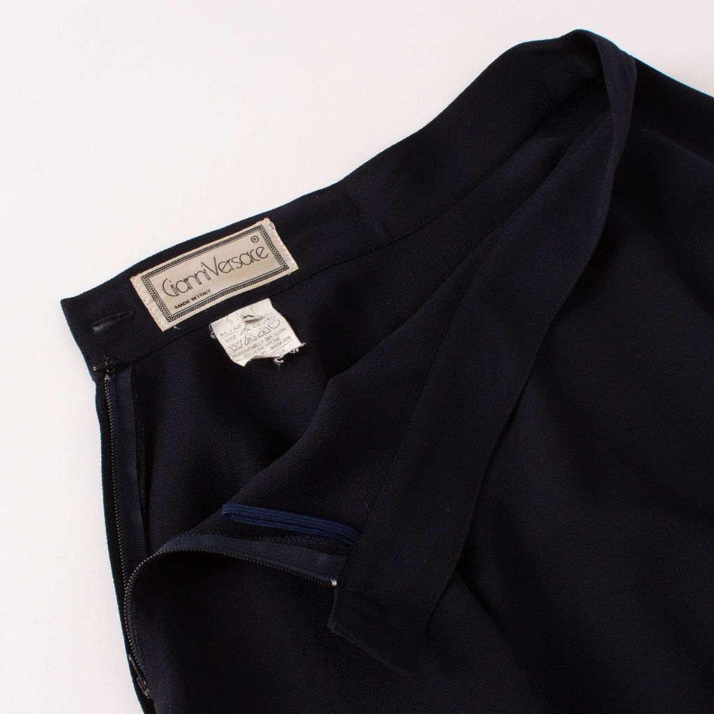 Vintage Gianni Versace Wool Skirt