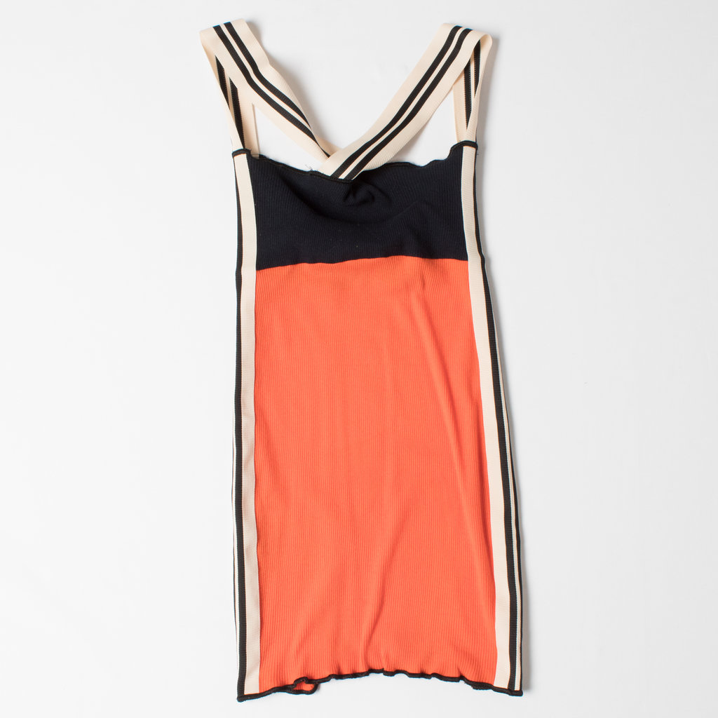 Jean Paul Gaultier Vintage Ribbed Mini Dress curated by Sophia Amoruso