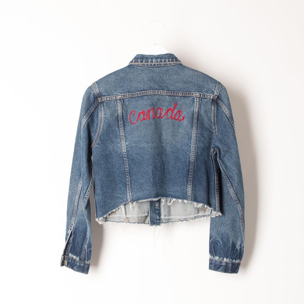 Custom Canada Jean Jacket