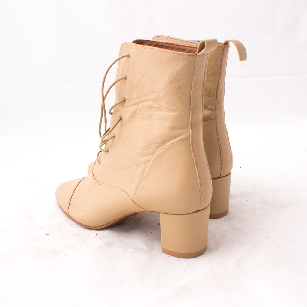 By Far Shoes Lada - Leather Cream