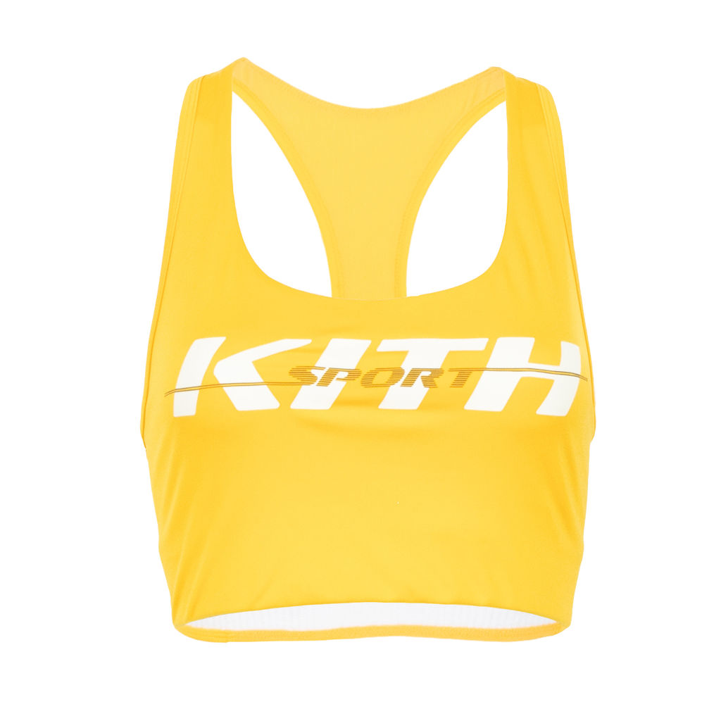 Kith Brie Sports Bra in Yellow