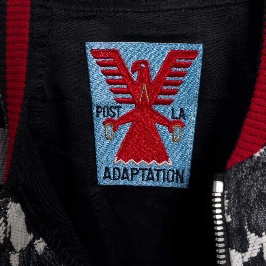 Adaptation Rose Jacquard Bomber Jacket