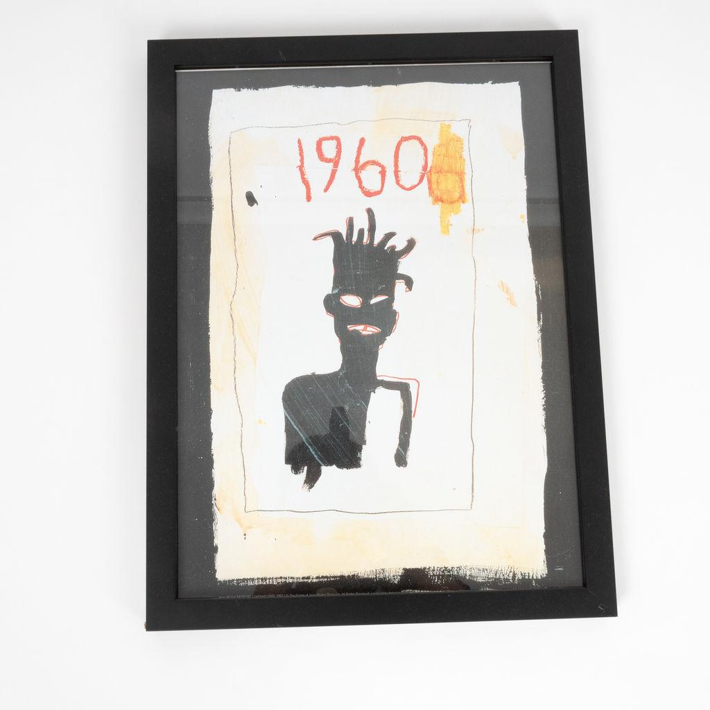 "Jean Michel Basquiat ""1960"" Print"