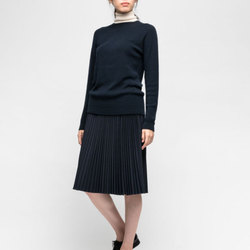Trademark Pleated Wool Skirt curated by Olivia Lopez