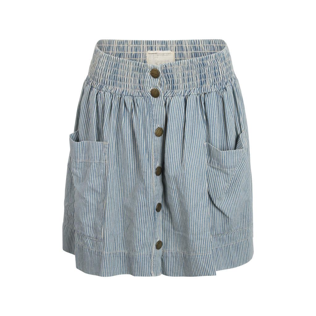 Current/Elliot Pinstripe Skirt