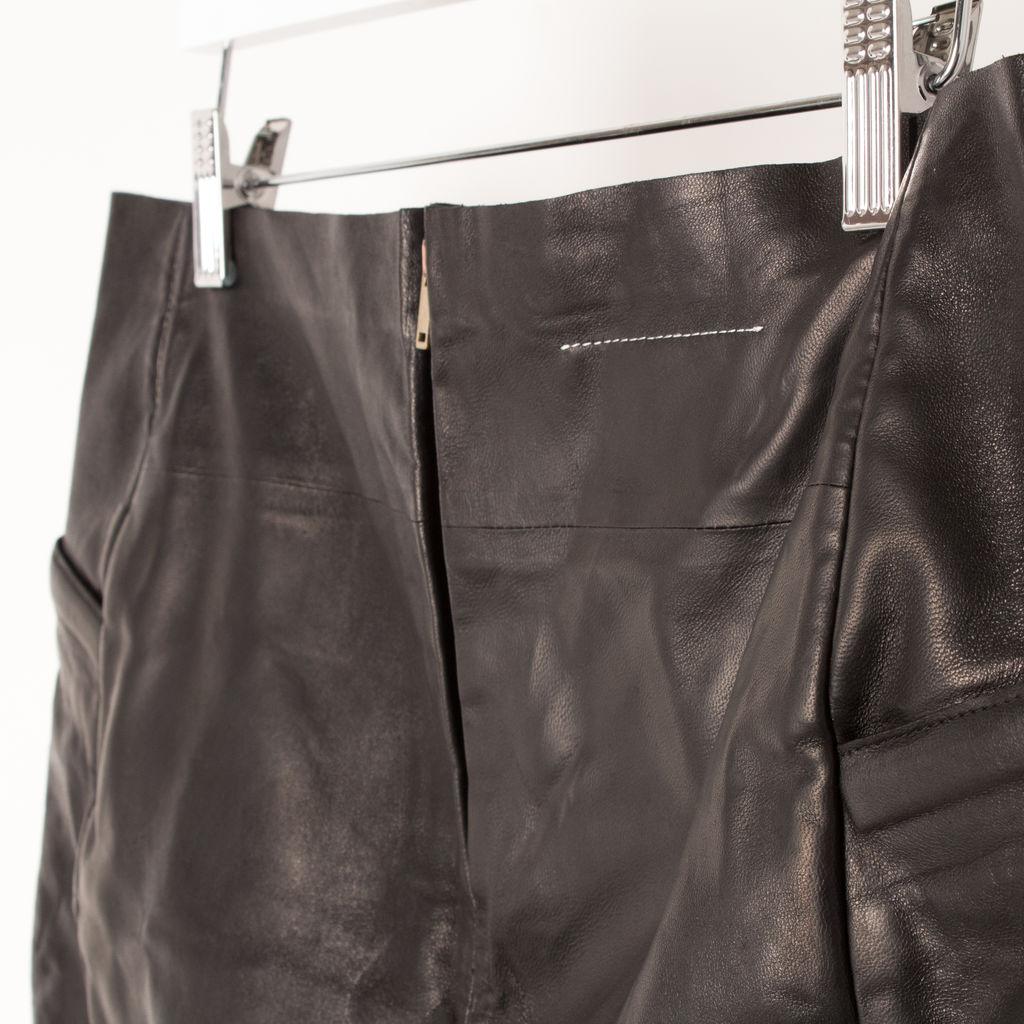 Maison Margiela Leather Skirt