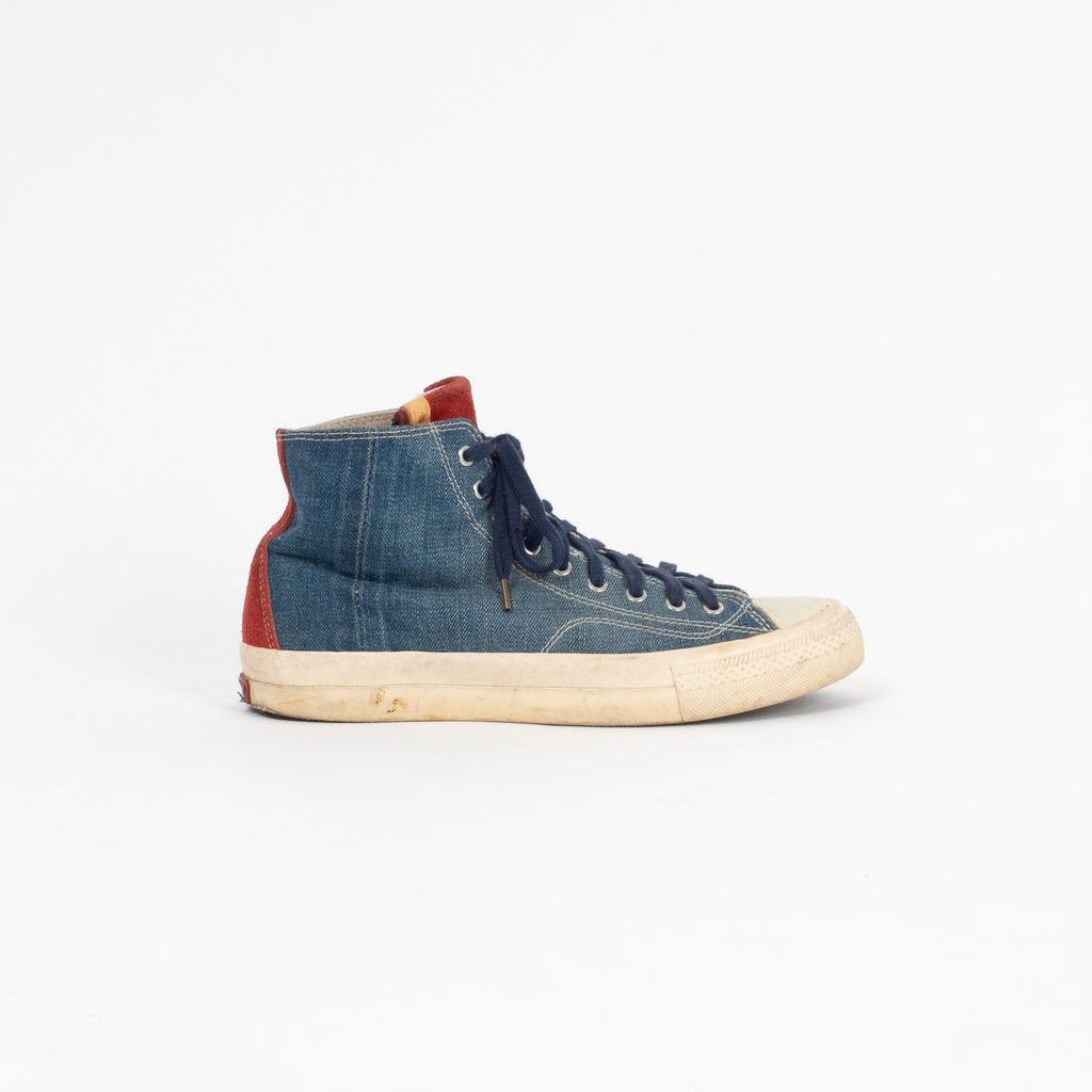 Visvim Denim & Suede Skagway High Tops