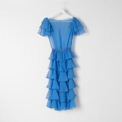 Vintage Ruffled Princess Sleeve Dress curated by Sophia Amoruso