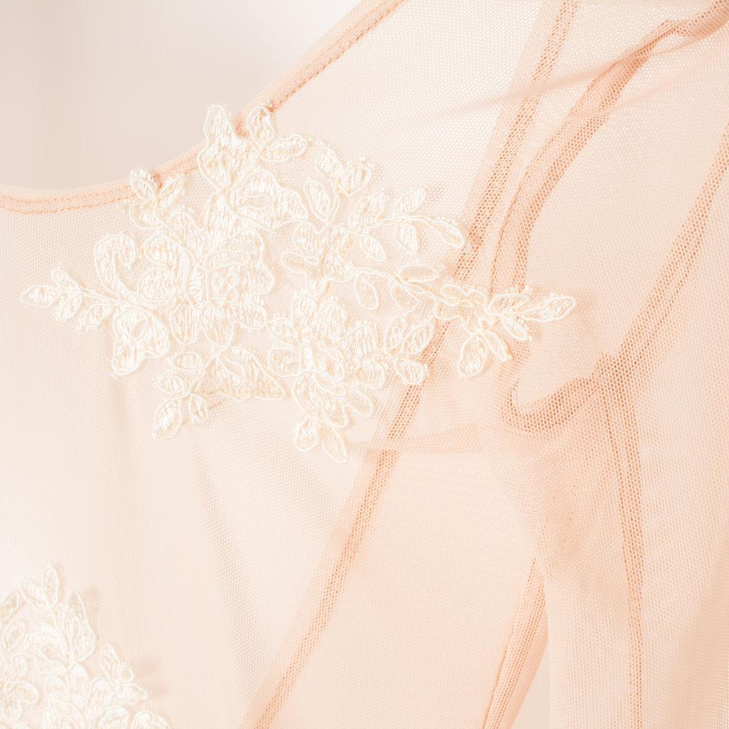 Ninety Five Noir French Lace Bodysuit