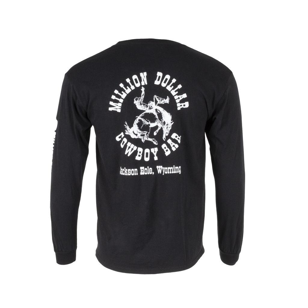 Million Dollar Cowboy Bar Long Sleeve Shirt