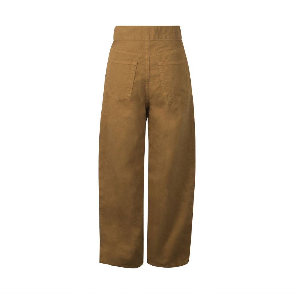 Tomorrowland- Macphee Wide Pants in Brown