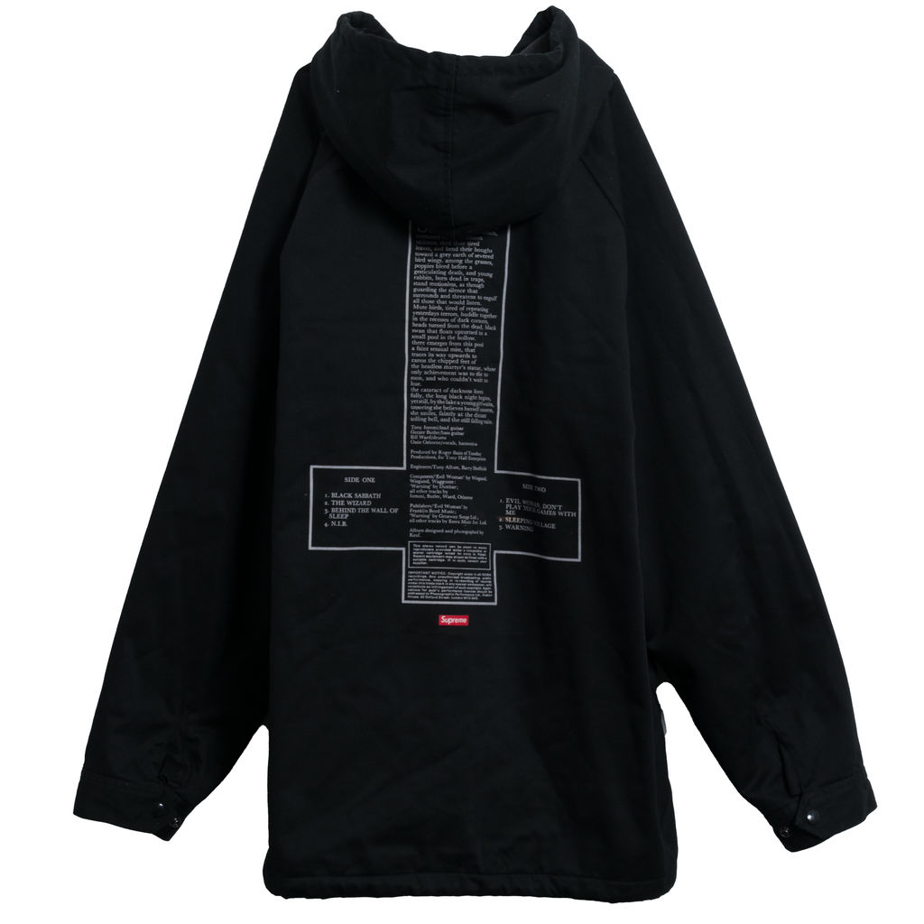 Supreme x Black Sabbath Hooded Parka