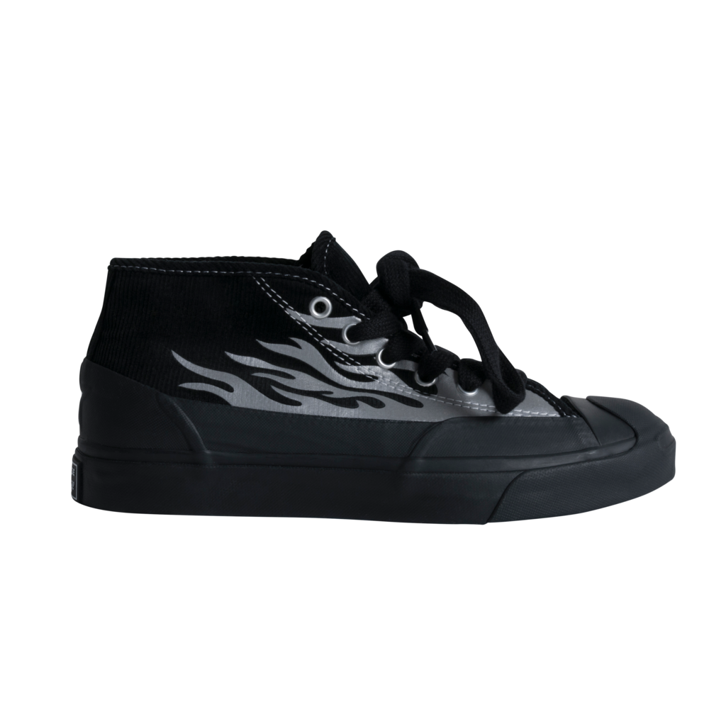 Converse x A$AP Nast Jack Purcell Chukka Sneakers  - Black