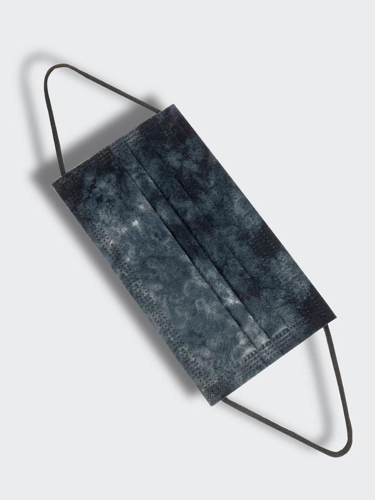 Tie Dye Mask Pack - Black