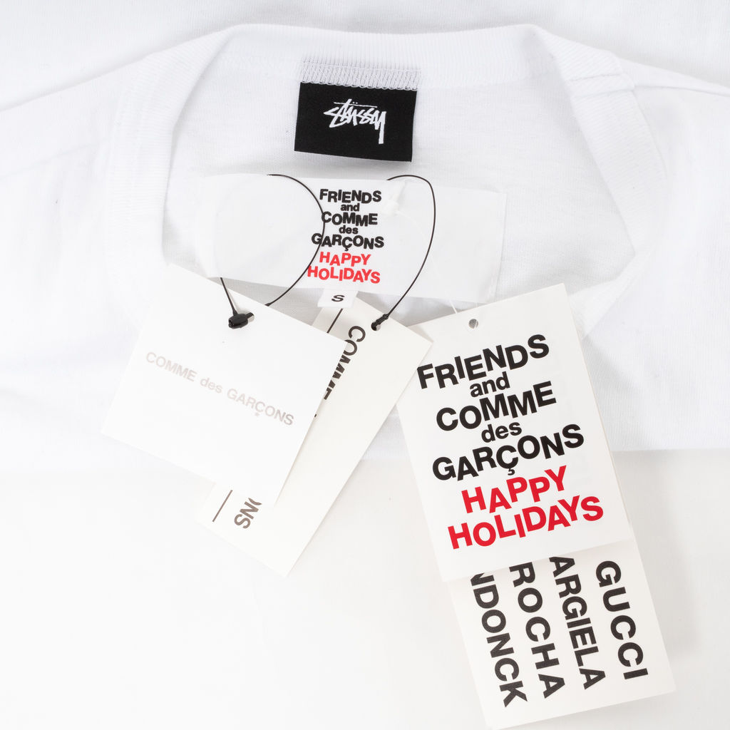 Stussy x Comme Des Garcons Holiday Tee