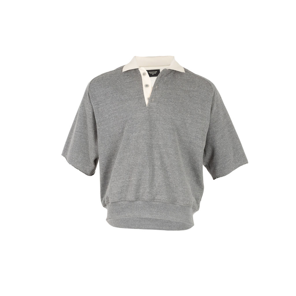 Fear of God Heavy Terry V-Neck Polo Shirt