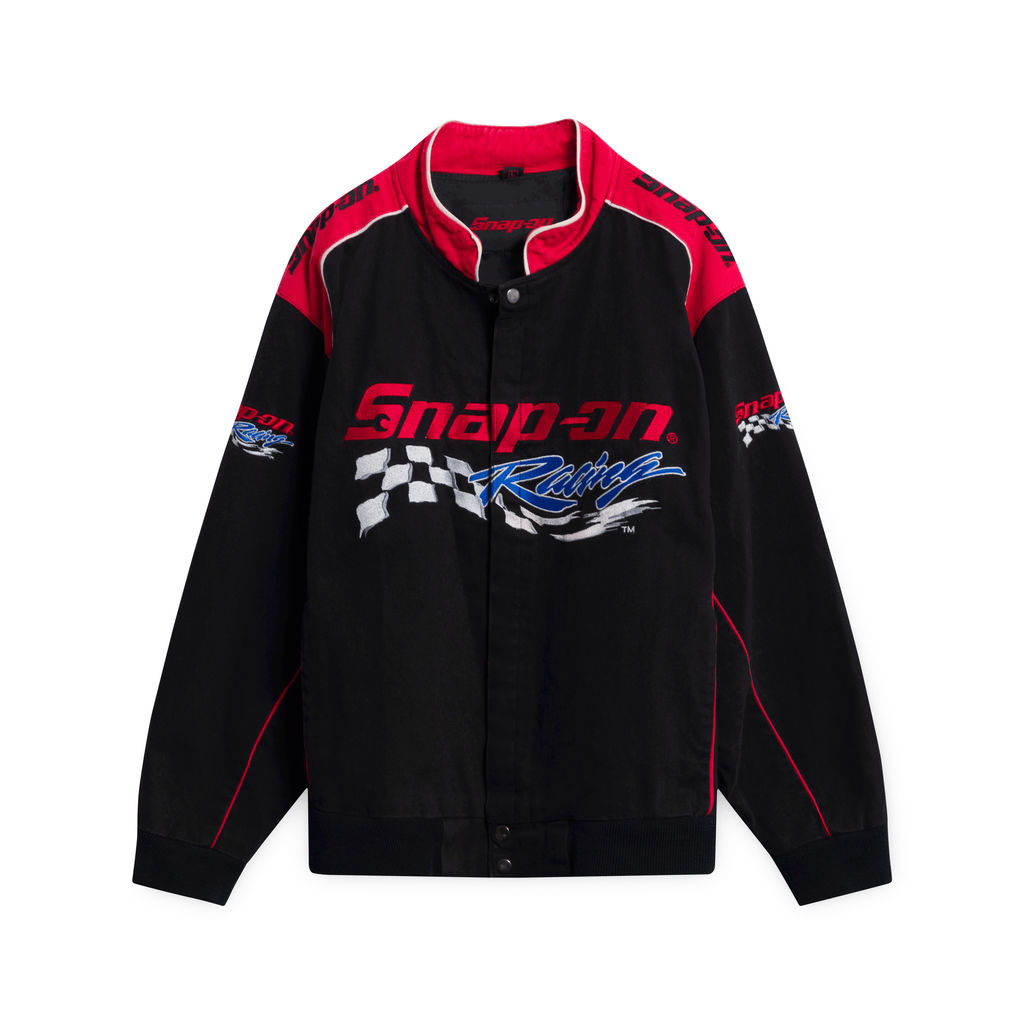 Vintage Snap-On Canvas Racing Jacket