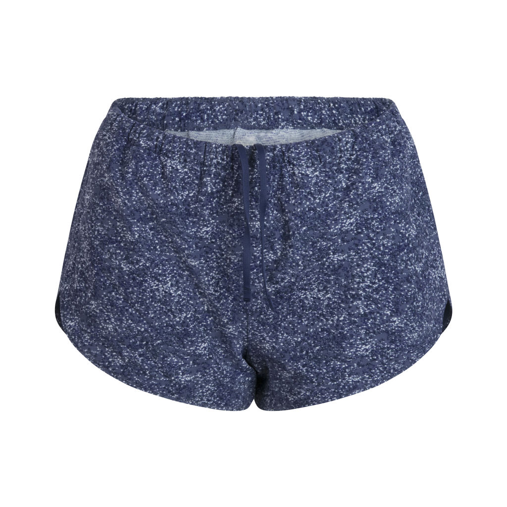 Outdoor Voices Speckled Shorts- Blue Mix