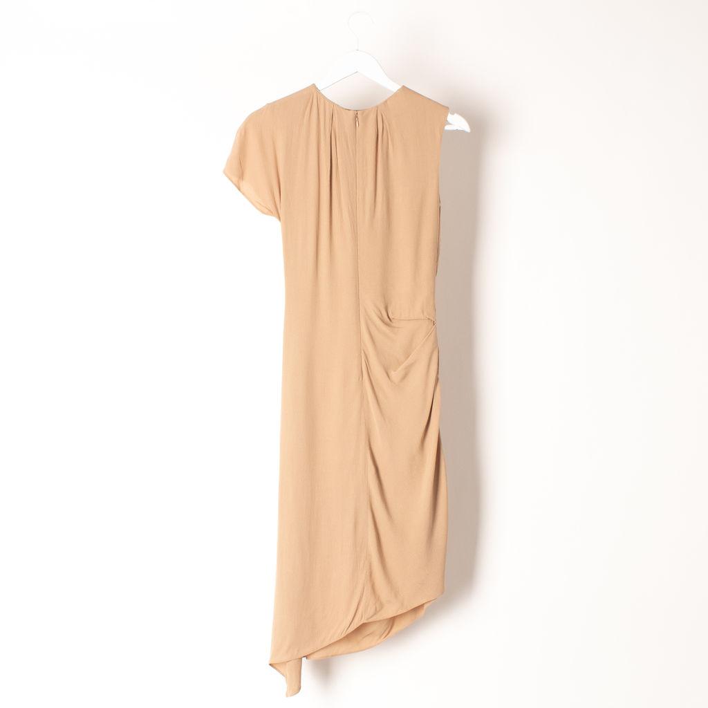 Carven One Shoulder Dress
