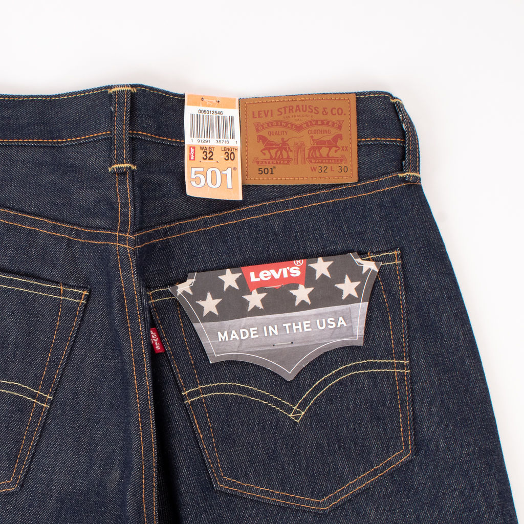 Levi's Made in USA Selvedge Jeans