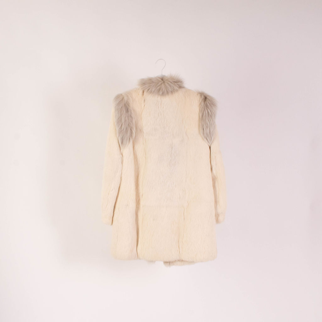 Vintage Mid Length Fur Coat