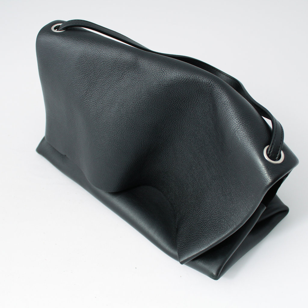 Celine All Soft Leather Shoulder Bag