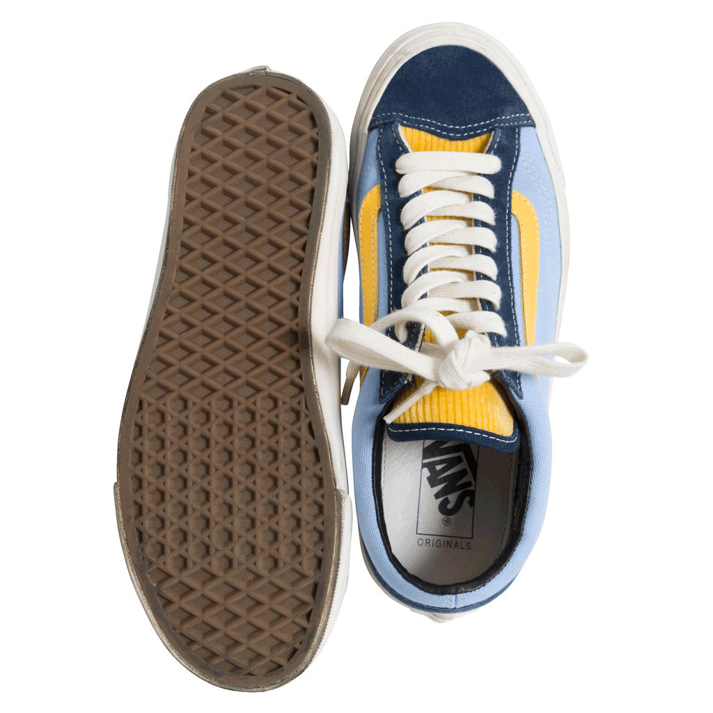 Vans Skate Shoes - Dark Blue and Yellow