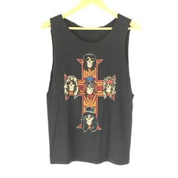 """Vintage 1987 GUNS N ROSES """"Appetite For Destruction"""" Promo Cut Off Tanks Top Tee Shirt  curated by Scott Hopkins"""