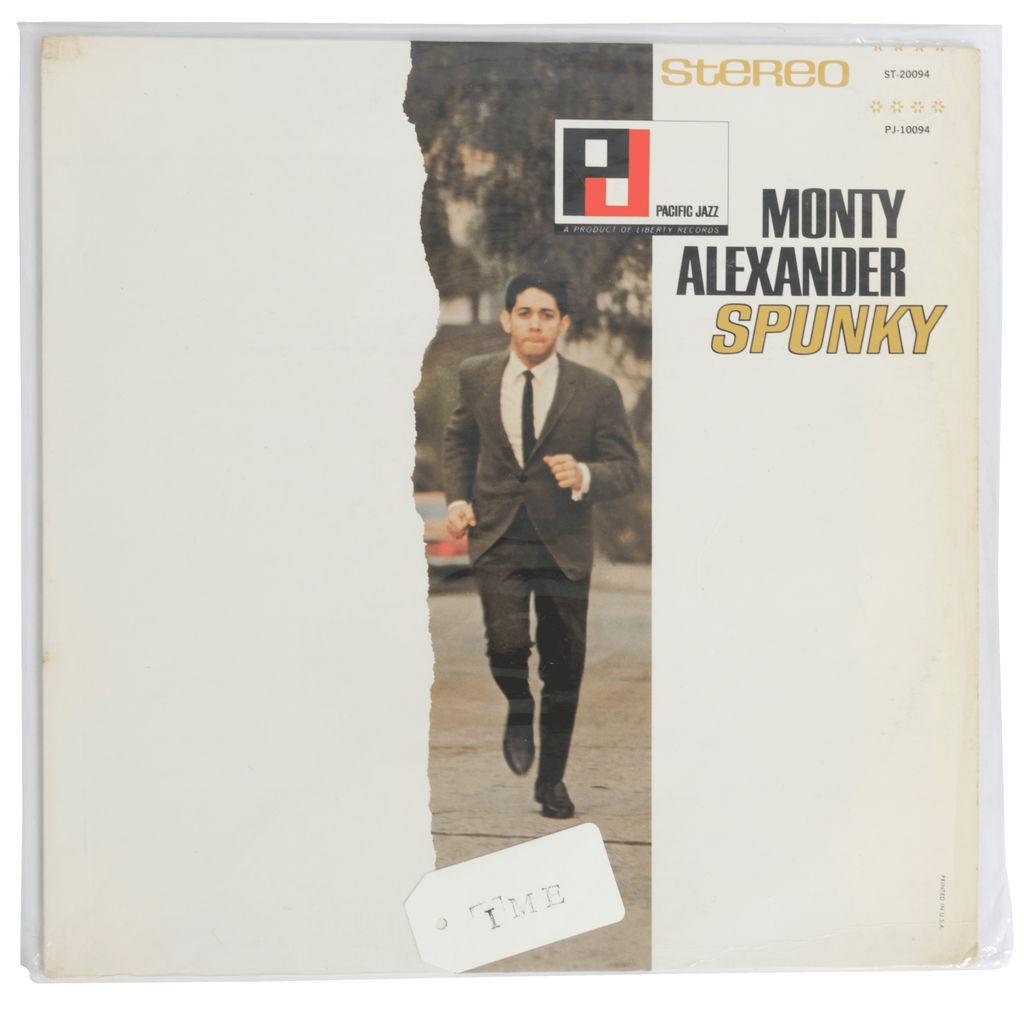 Monty Alexander Spunky Vinyl