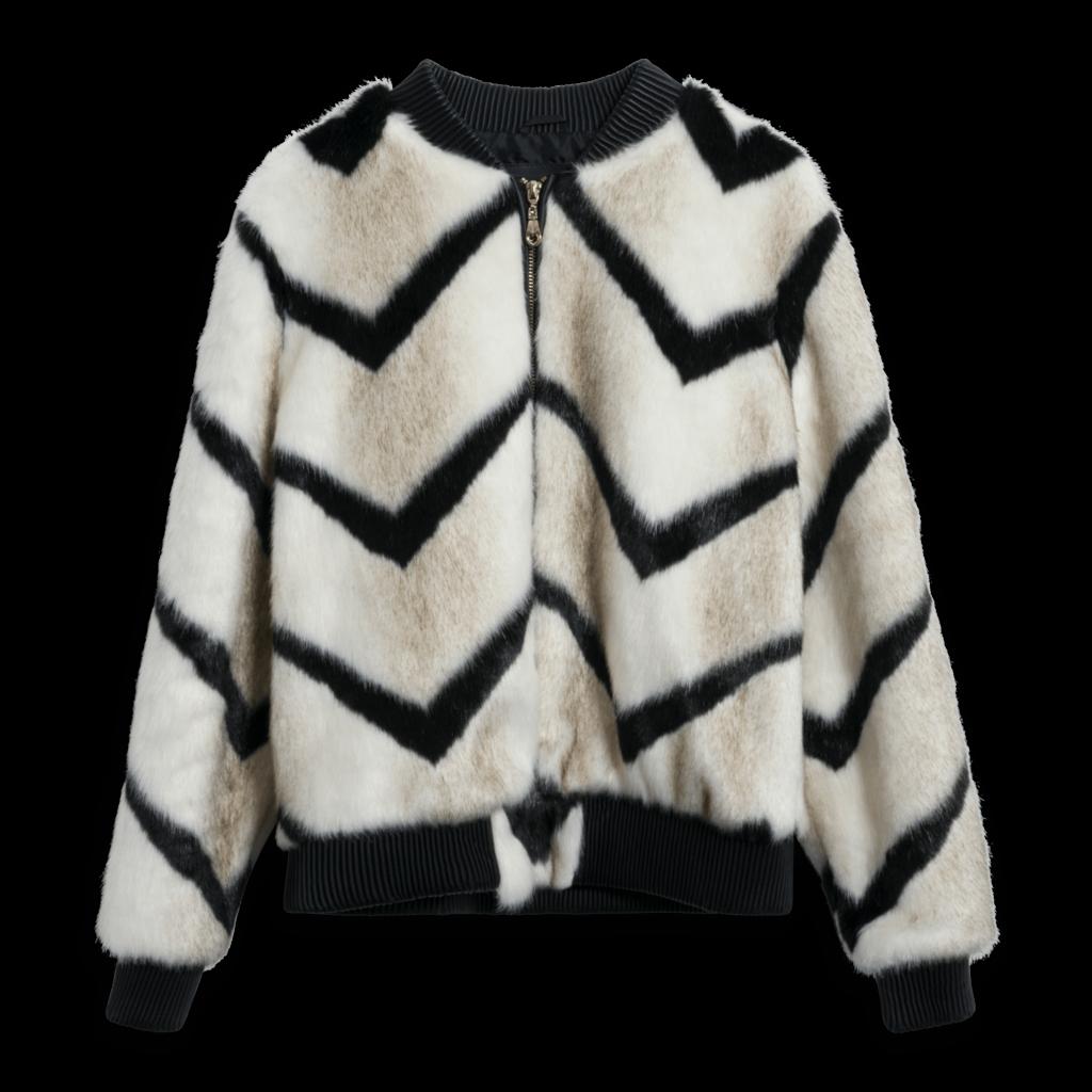 Beulah Style Faux Fur Jacket