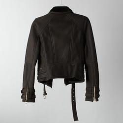 Balmain Leather Biker Jacket curated by Sami Miro