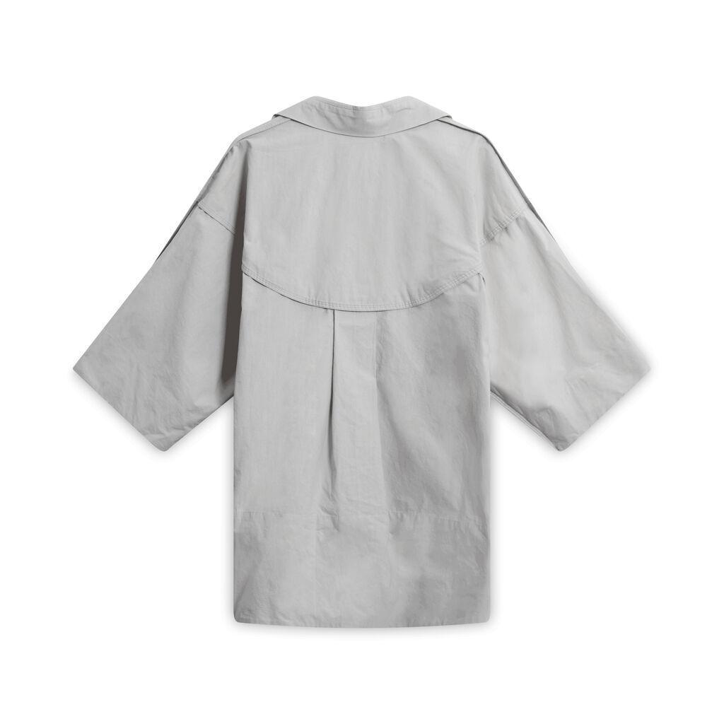 Beira Grey Button-Down Shirt