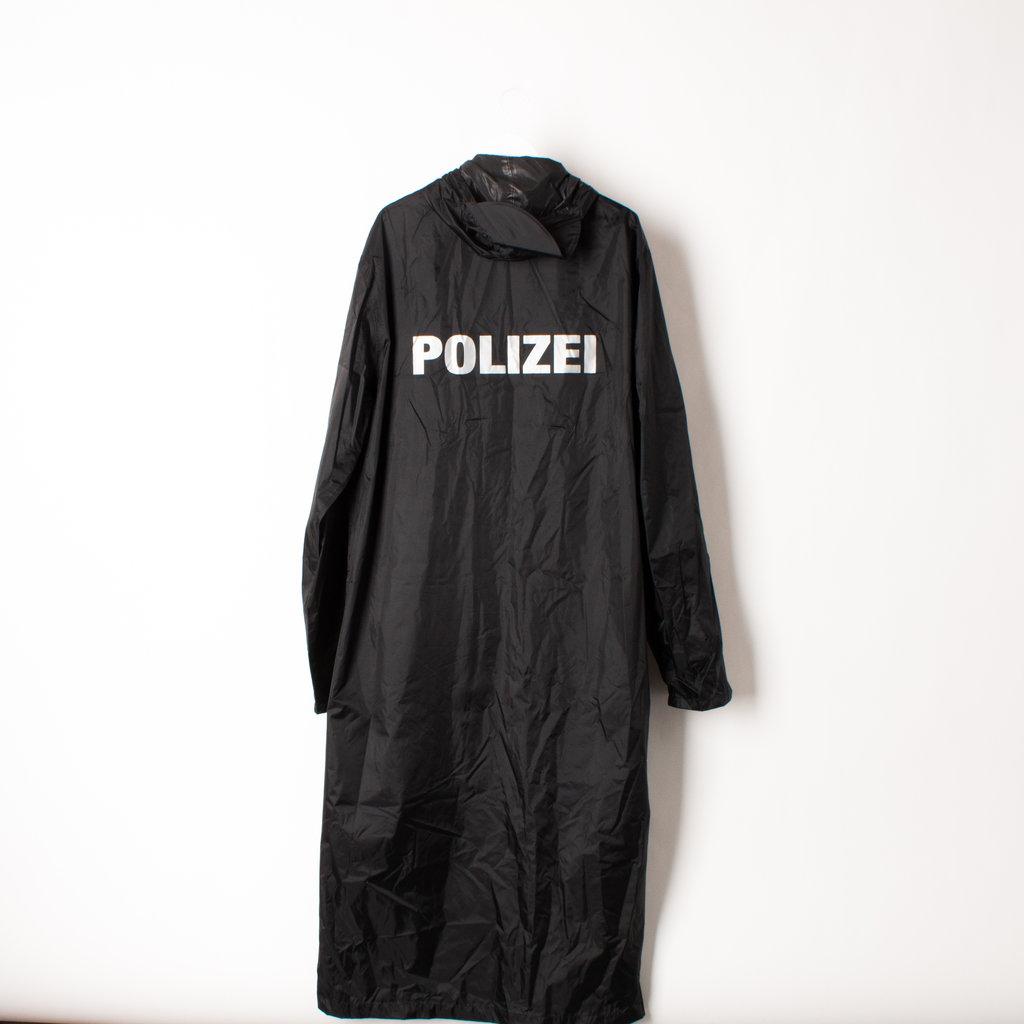 Vetements Polizei Oversized Raincoat