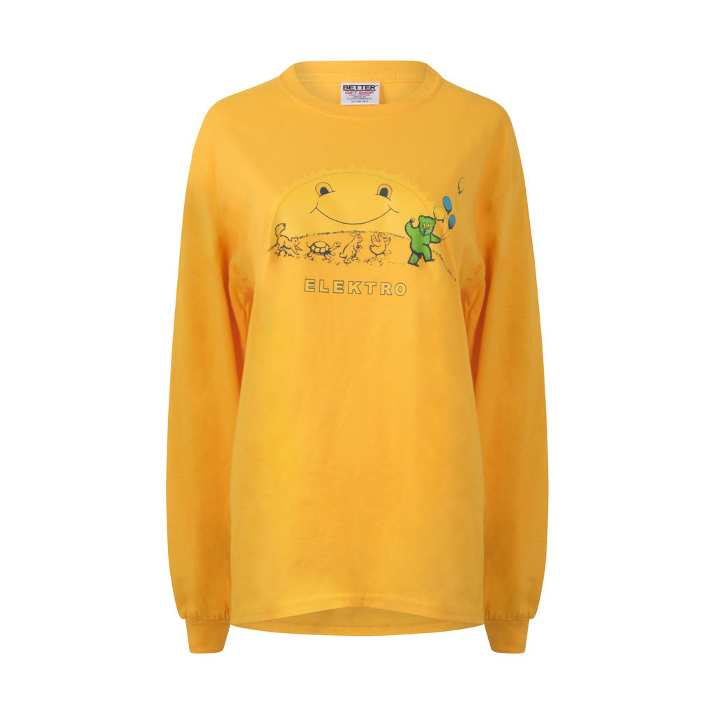 Better Nick Atkins Elektro Long Sleeve- Yellow