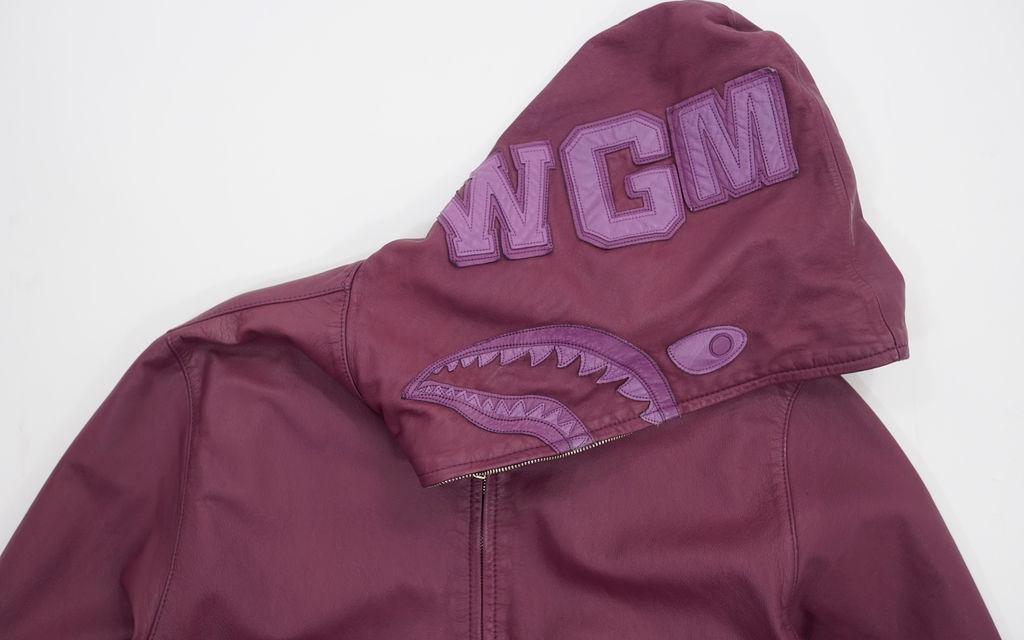 BAPE Cowhide Shark Jacket