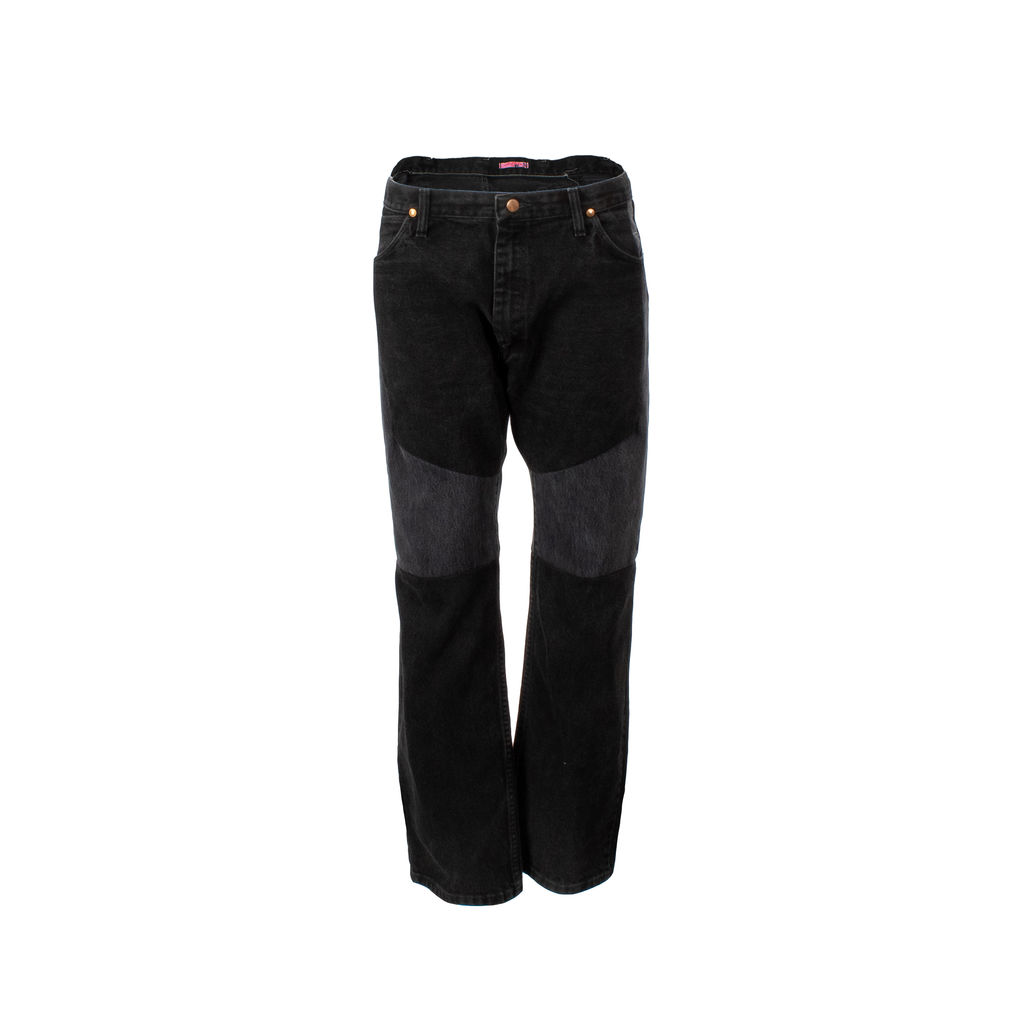 icantdecideyet Re-Constructed Wrangler Jeans