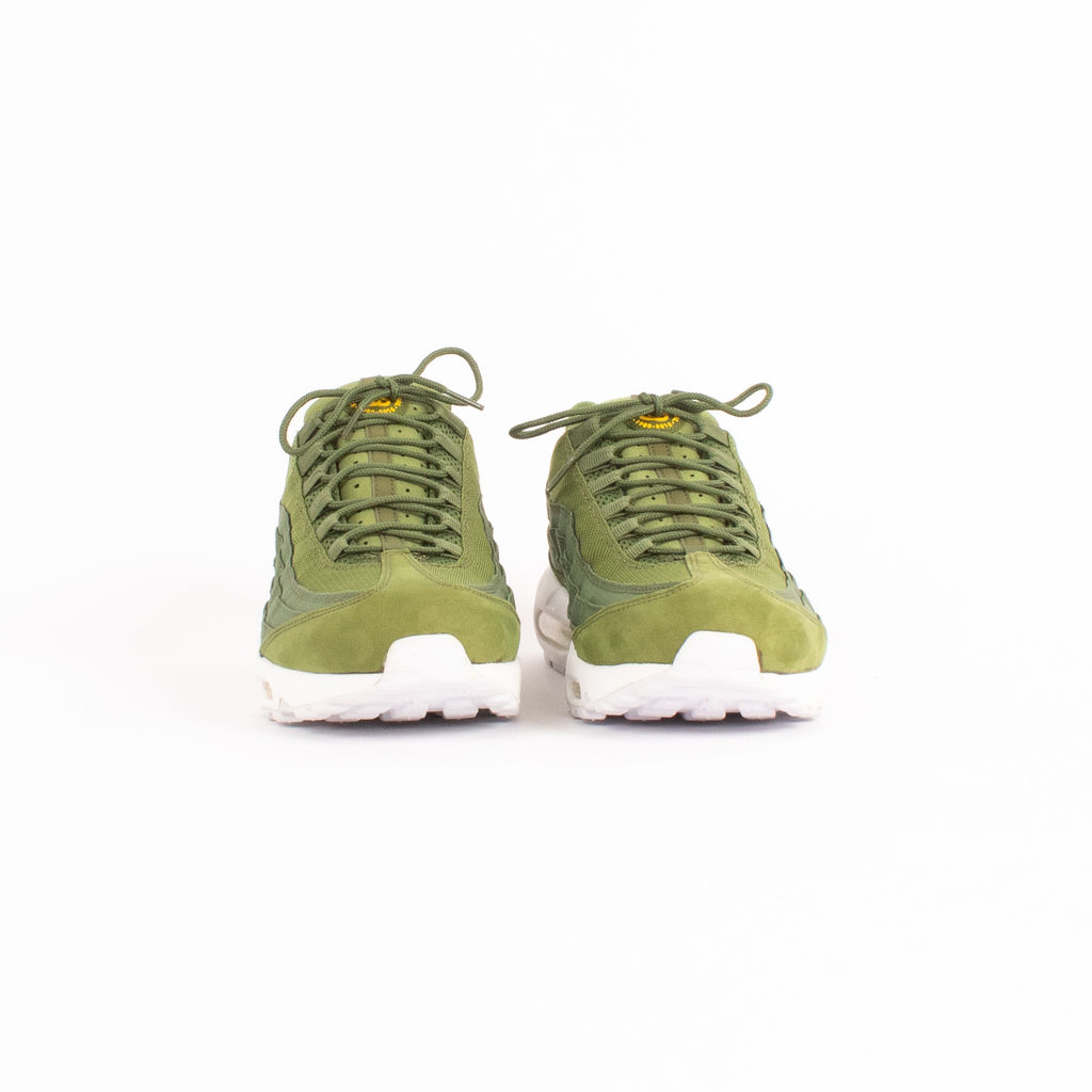 Nike x Stussy Air Max 95 Sneakers in Olive Green