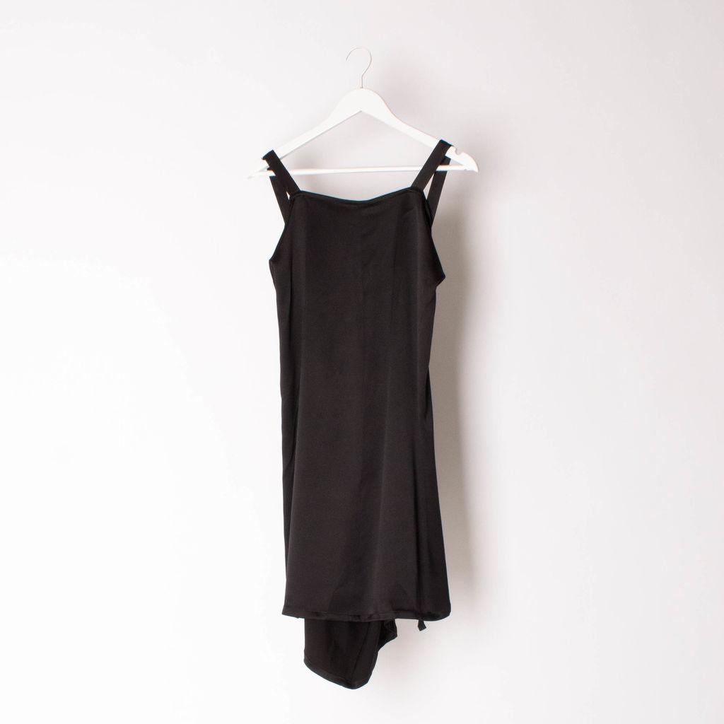 Ann Demeulemeester Black Slip Dress