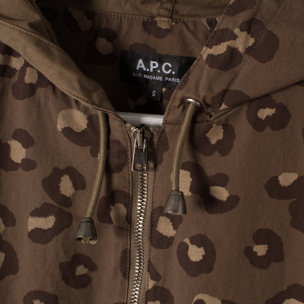 APC Cotton Hooded Jacket