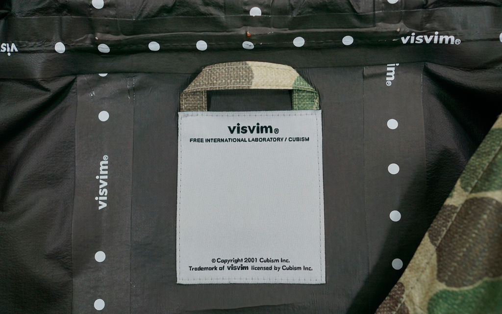 Visvim 2.5L GoreTex AWOL Camo Smock Hooded Jacket
