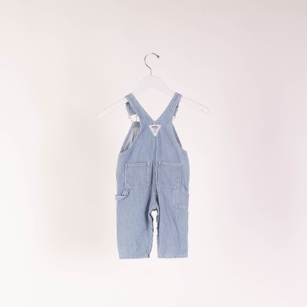 OshKosh Denim Striped Overalls