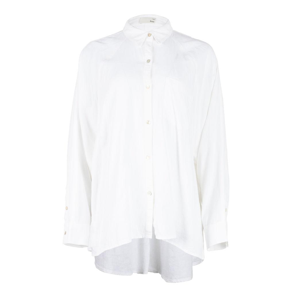 Wilfred Free Boyfriend Button Up Shirt