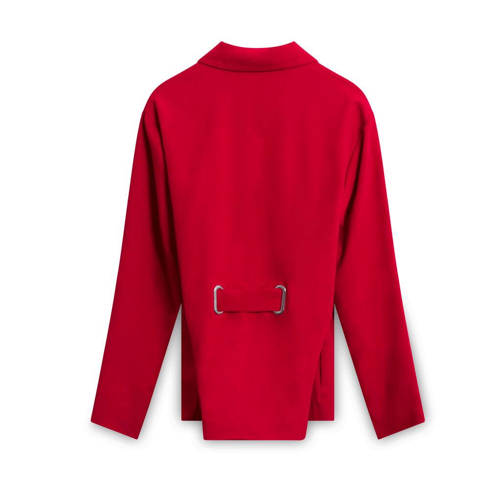 Hanger Inc Zip-Up Top - Red
